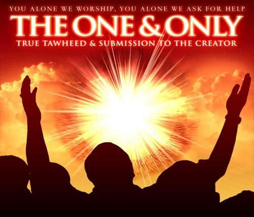 One Allah Verses of Holy Quran about Monotheism (Tauheed)