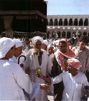 virtues of zamzam water