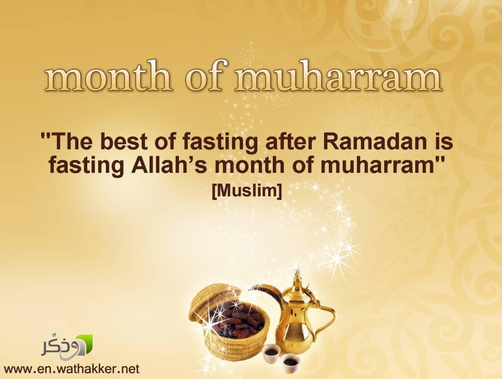 muharram, islamic month