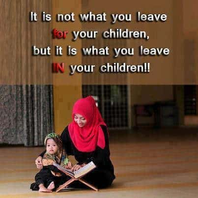 quran learning, mother teaching child