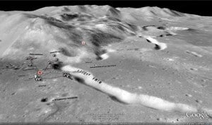 Nasa Splitting Moon Picture