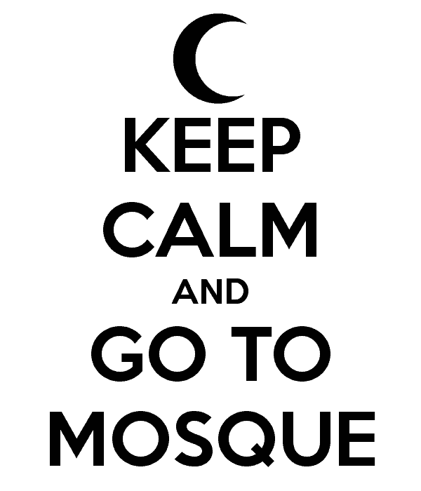 i love mosque