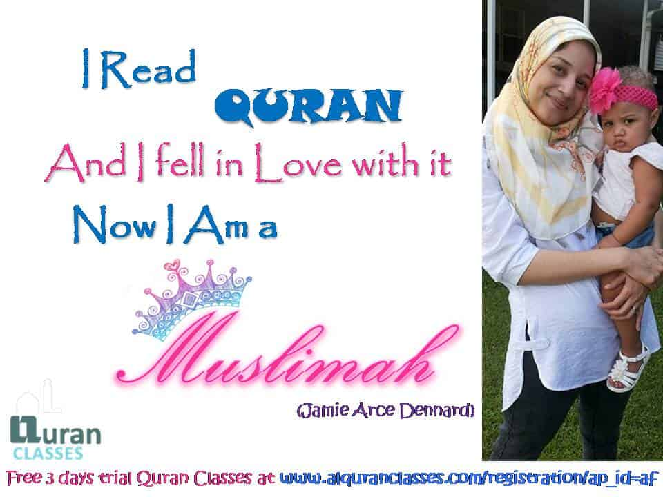 i read quran and i reverted, i love reading quran