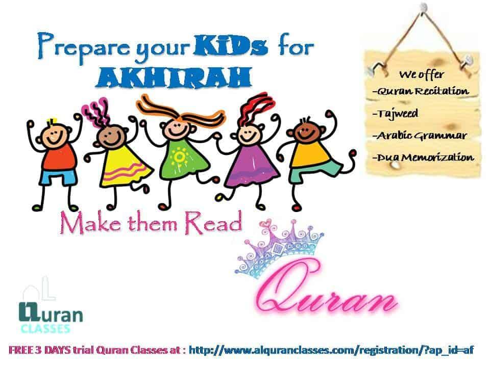 prepare your kids for akhira, muslim children