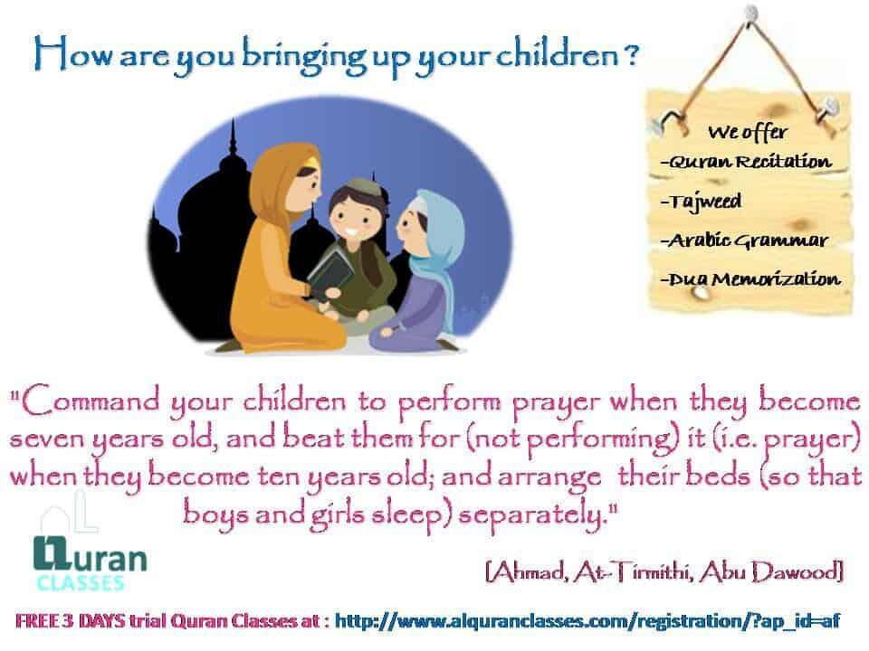 teach your children salaah